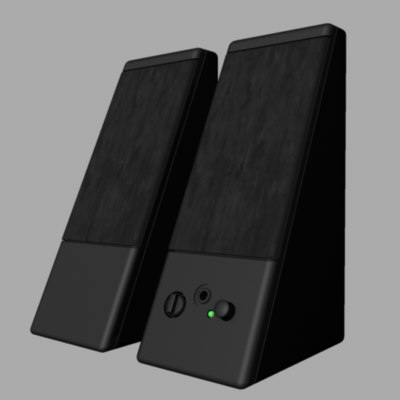computer speakers 3ds