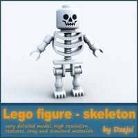Lego character - skeleton