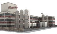 Factory Building (low poly)