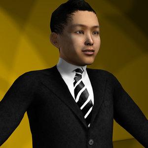 3d professional character model