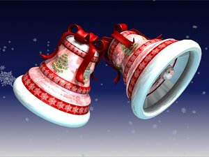 3ds max christmas bell