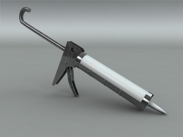 3d caulking gun