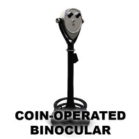 coin operated binocular x