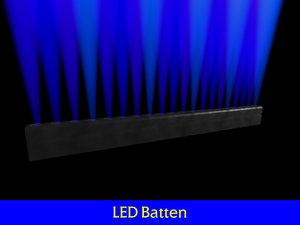 led batten 3d max