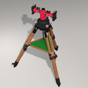 3ds max mount tripod