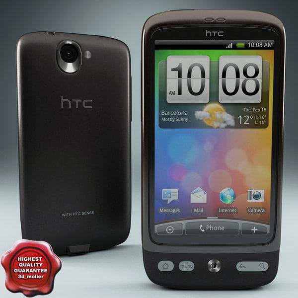 htc desire 3d 3ds