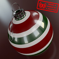 Ornament 14 - High Quality Christmas Ornament - 3ds max 2010 - Mental Ray