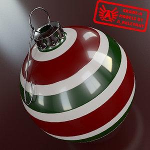 max christmas tree ornament 2010