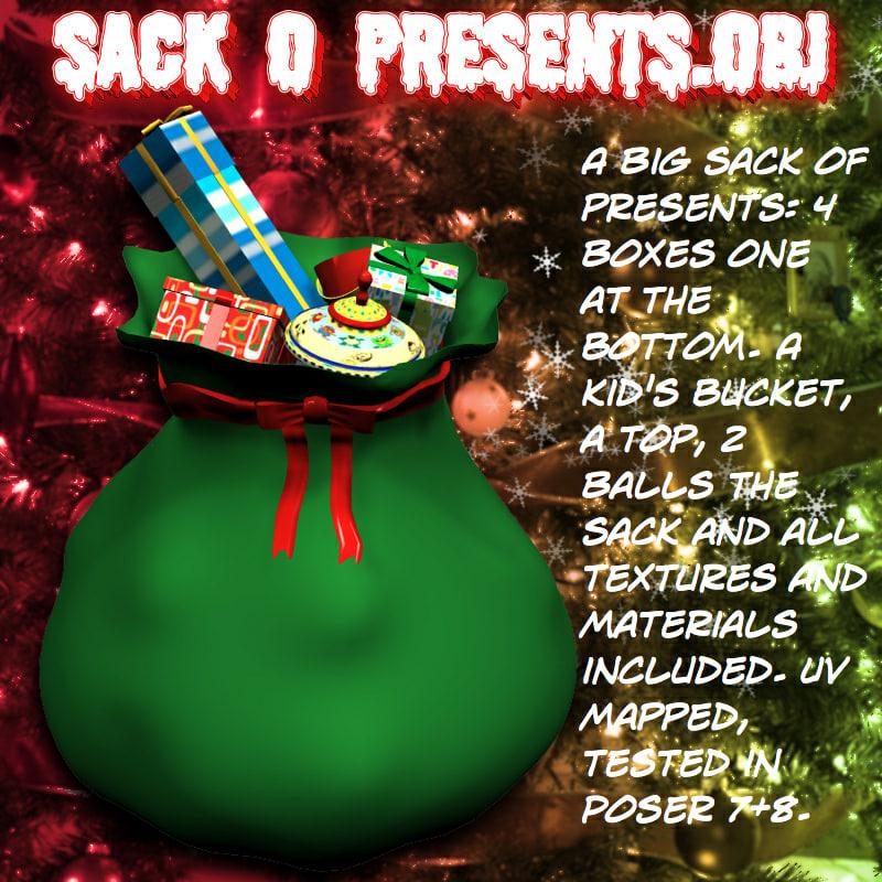 3d sack o presents