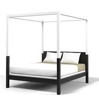 Holy Hunt Christian Liaigre zanzibar canopy bed modern contemporary