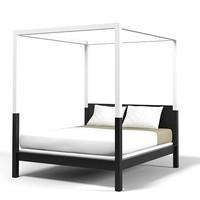 Holy Hunt Christian Liaigre zanzibar canopy bed modern contemporary