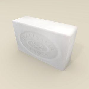 classic soap haci sakir 3d obj