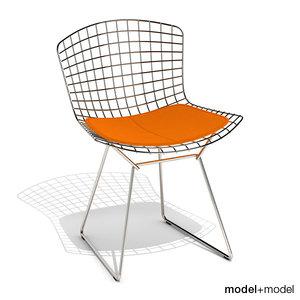 bertoia chair knoll 3d model