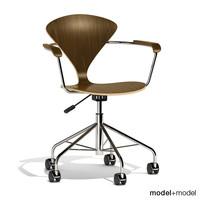3d model task chair cherner