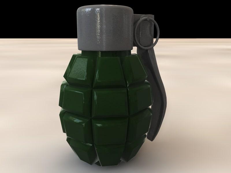 3ds max war grenade
