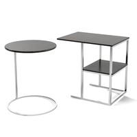 meridiani modern contemporary side table rectangular square round minimalistic