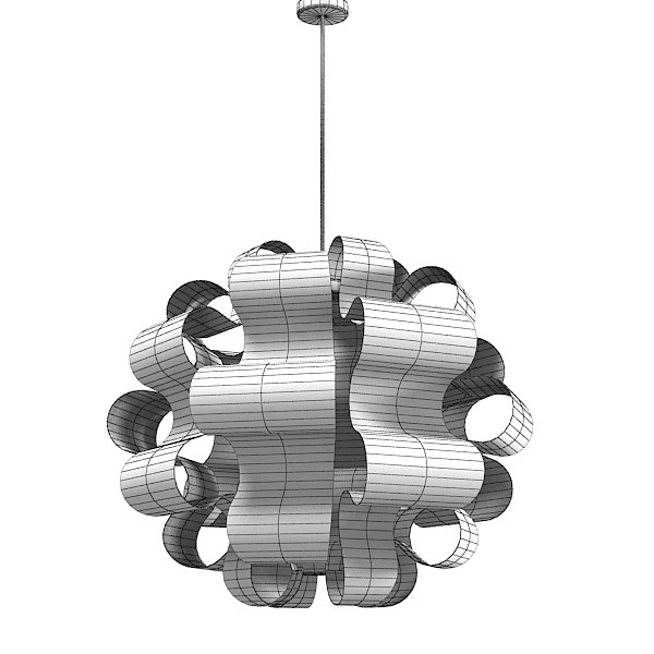 Casamania Insideout Pendant Modern Contemporary Chandelier Lamp Ceiling  Designer