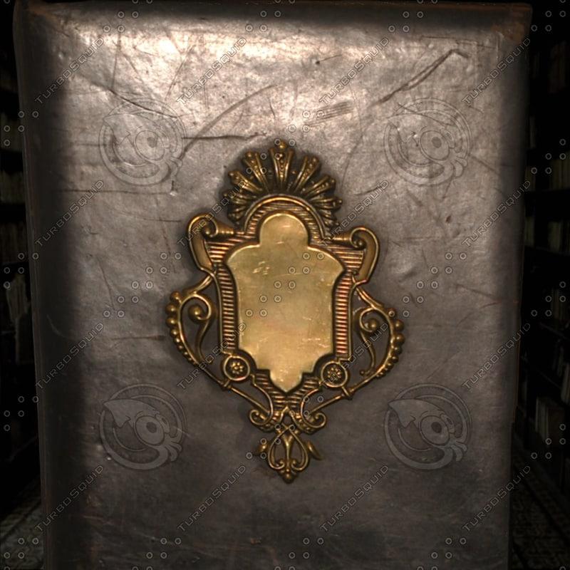 3d ancient book