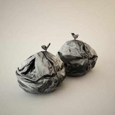 3d max trash bag truax