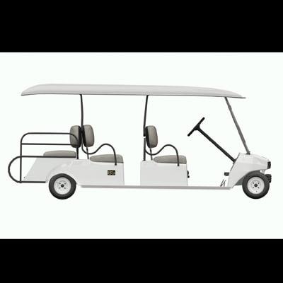 3d model club car