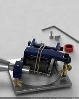 tattoo machine 3d max