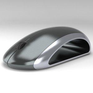 3d computer mouse void model