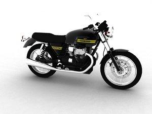 3ds max moto guzzi v7 classic