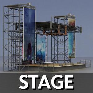 3dsmax stage