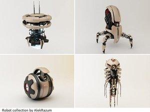 robot bot 3d model