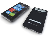 HTC HD7 Windows Phone 7 Cellphone - SOLIDWORKS