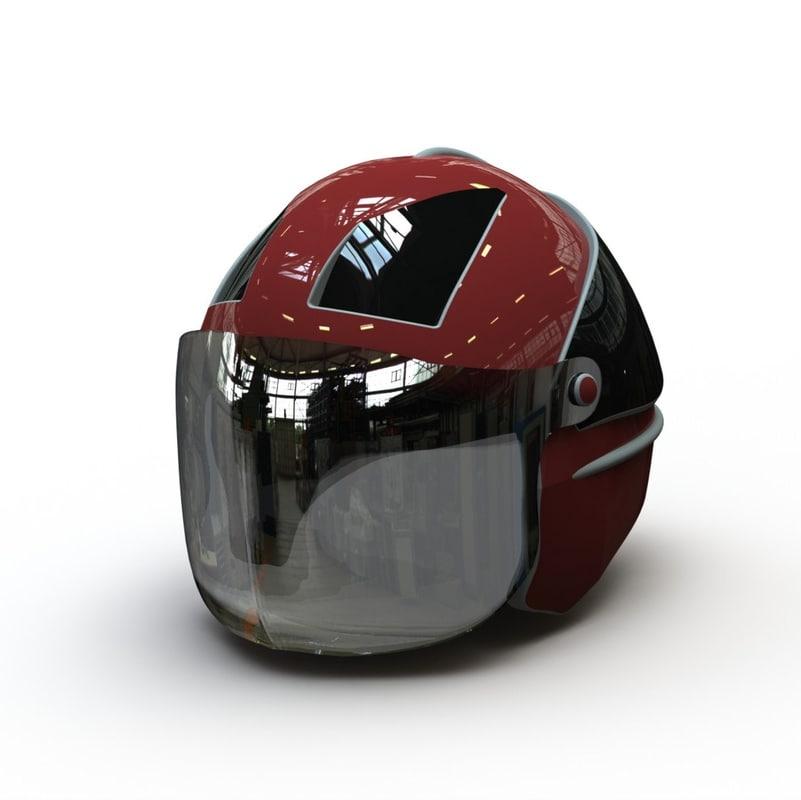 3d helmet solidworks assembly model