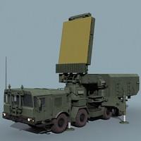96l6e radar 3d model