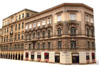 historical buildings 3d model