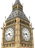 Big Ben low poly