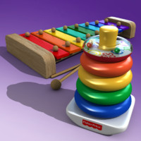 3ds max stacking toy