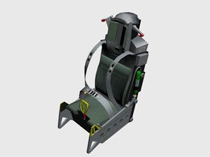 3ds max aces ii ejector seat