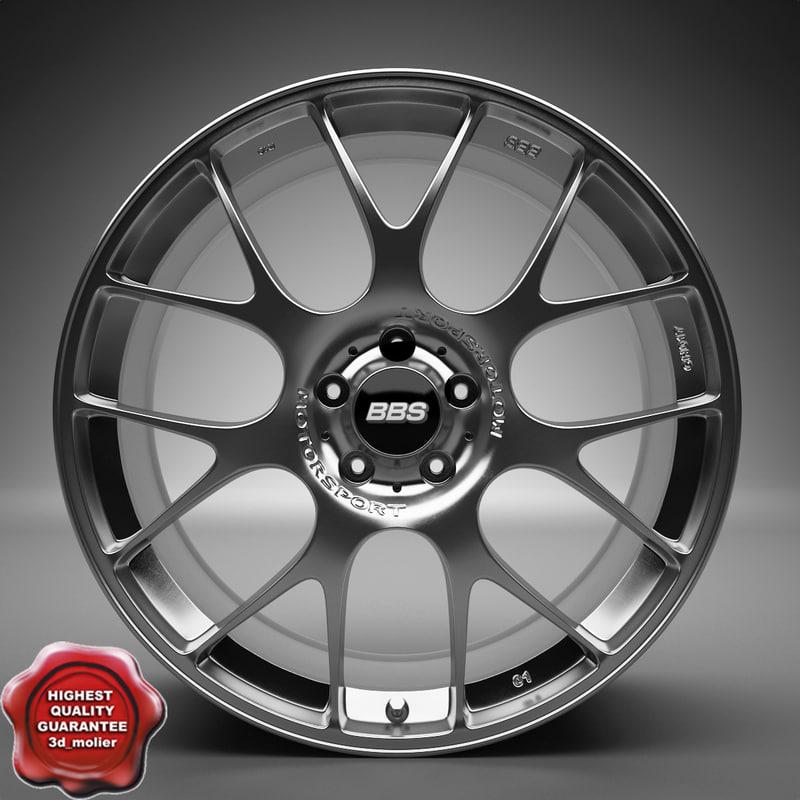 3d auto wheel trim bbs ch