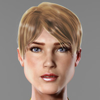 3ds max brianna basic woman