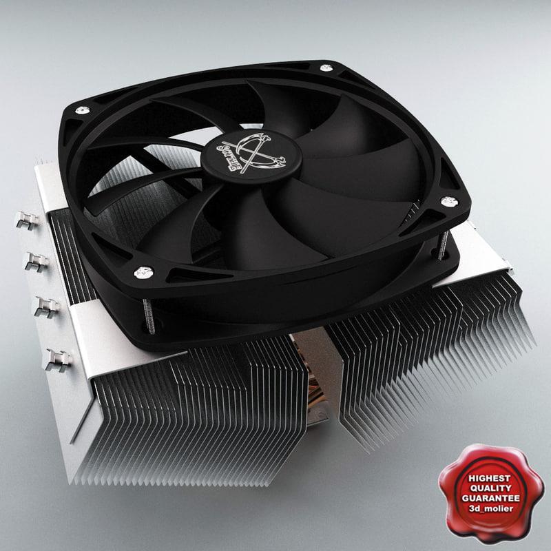cpu cooler scythe 3d max