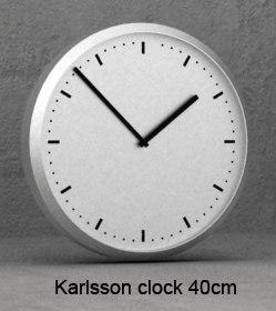lwo karlsson clock 40cm wall