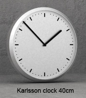 lwo karlsson clock 40cm wall