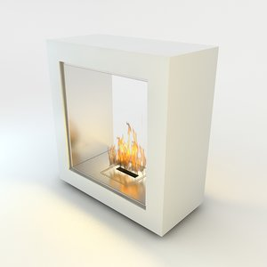 flueless fireplace realistic scenes max
