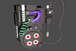 3dsmax ghost buster proton