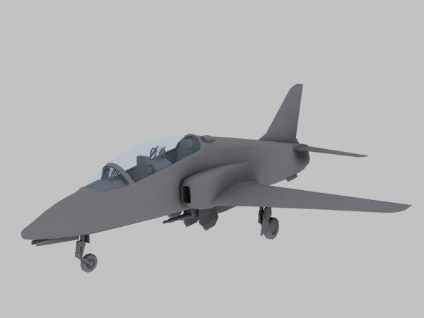 hawk games 3d model