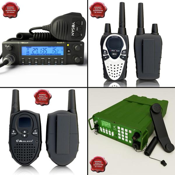 3d model mobile radio v2