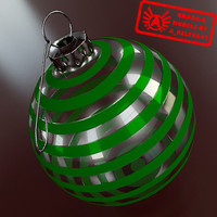 Ornament 10 - High Quality Christmas Ornament - 3ds max 2010 - Mental Ray
