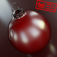 Ornament 19 - High Quality Christmas Ornament - 3ds max 2010 - Mental Ray