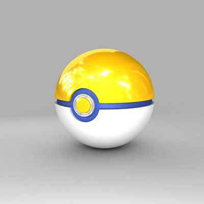 3d pokemon ball park