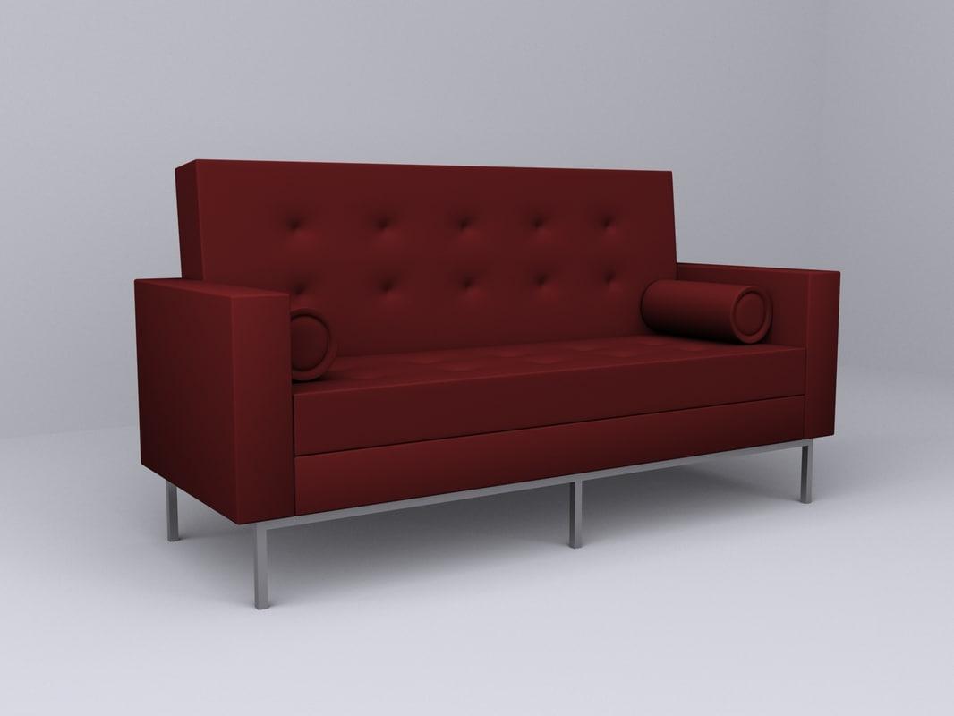 3d max nice designer sofa