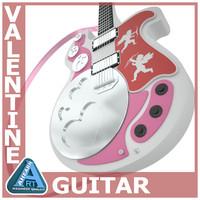 3d model valentines guitar